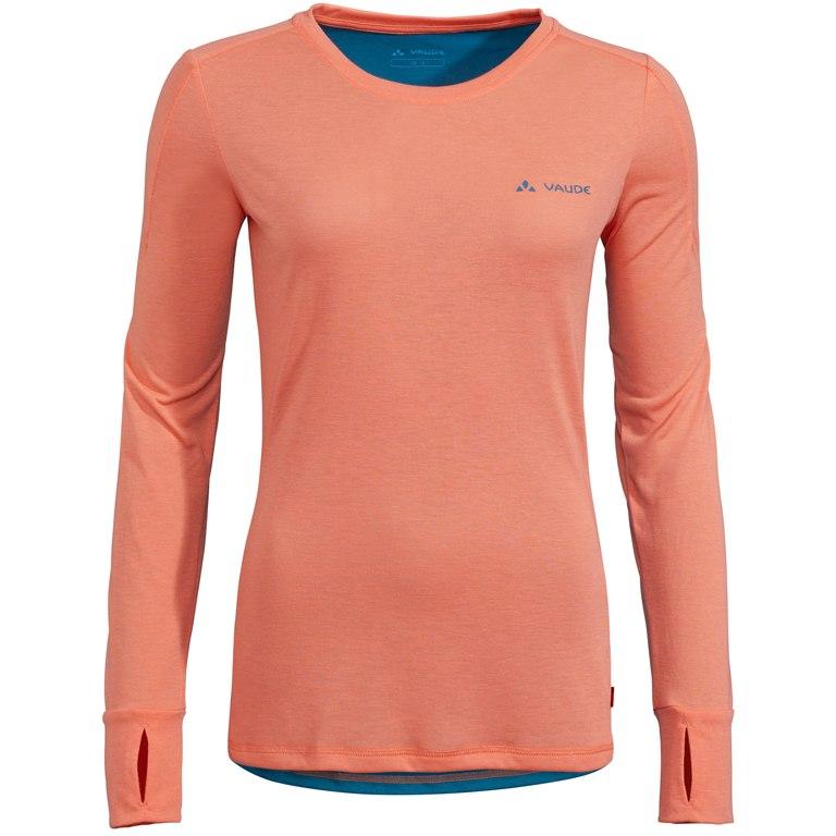 Vaude Women's Sveit LS Shirt - pink canary