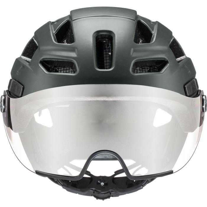 Image of Uvex finale visor Helmet - forest mat