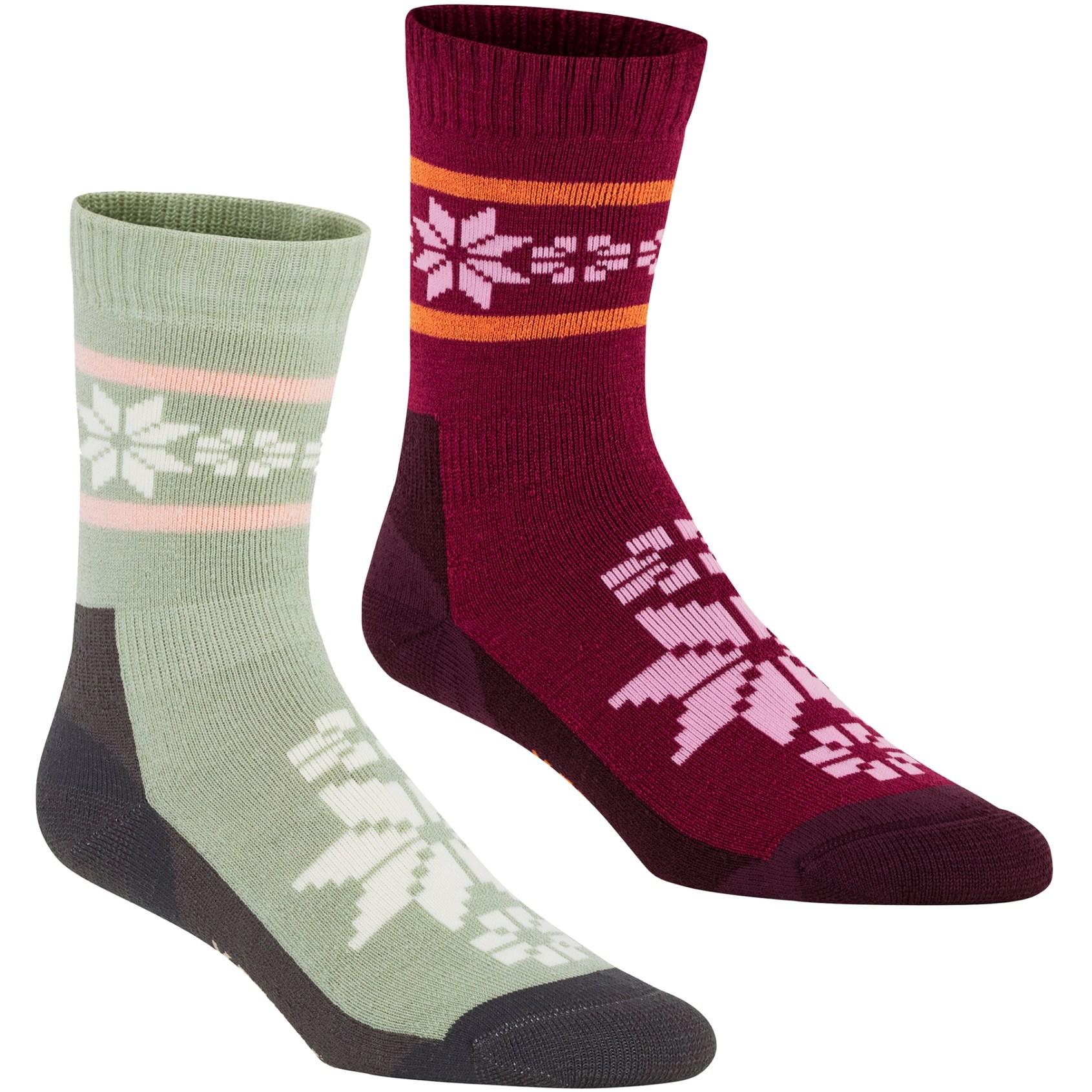 Kari Traa Rusa Women's Socks - 2 Pack - Slate