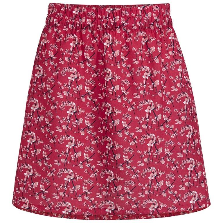 Vaude Women's Lozana AOP Skirt III Rock - red cluster