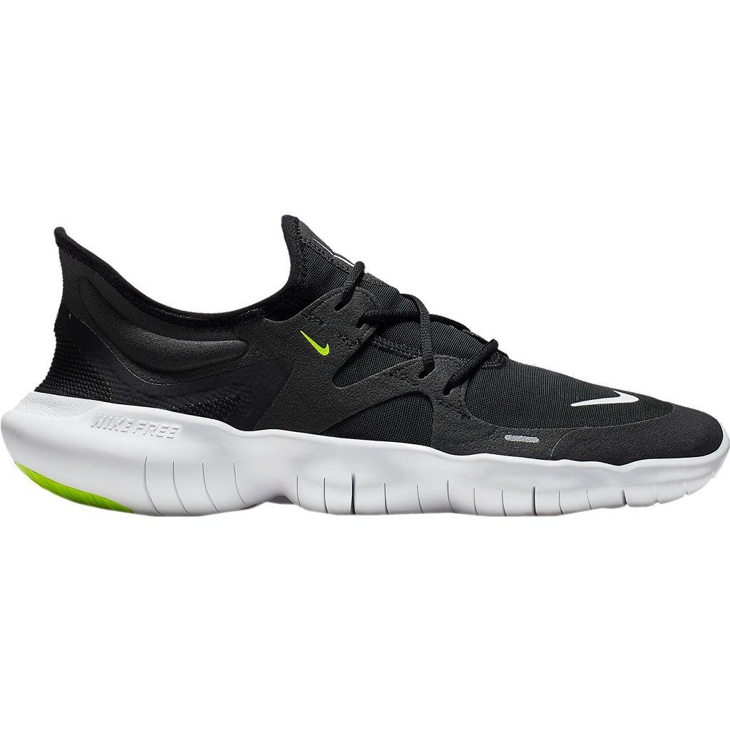 Nike Free RN 5.0 Men's Running Shoe - black/white/anthracite/volt AQ1289-003