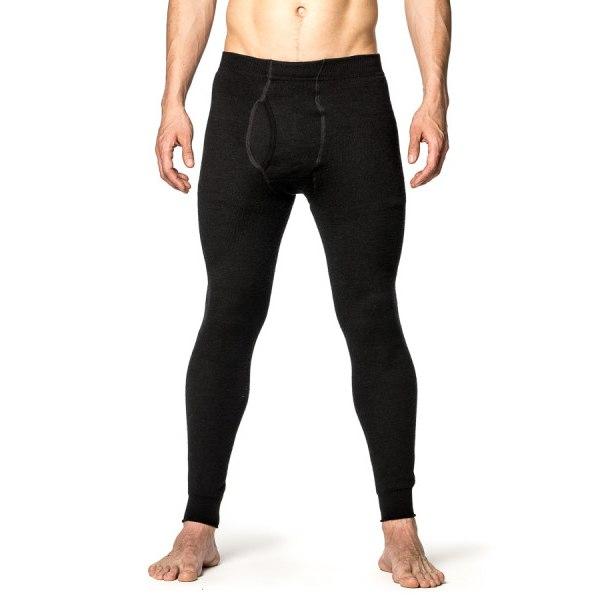Bild von Woolpower Long Johns man 400 Unterhose mit Eingriff - schwarz