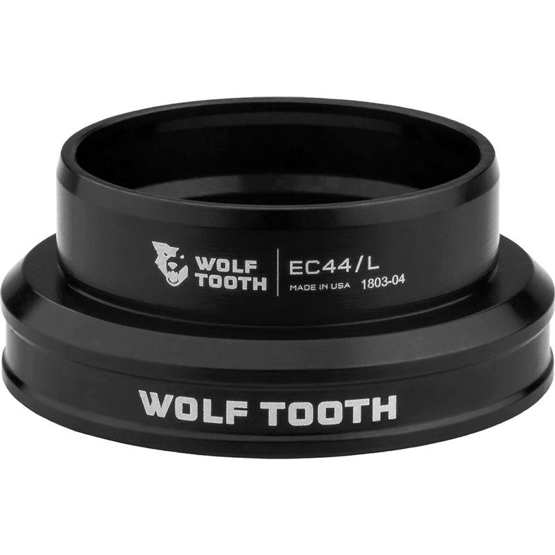 Wolf Tooth Precision EC Steuersatz Unterteil - EC44/40 - schwarz