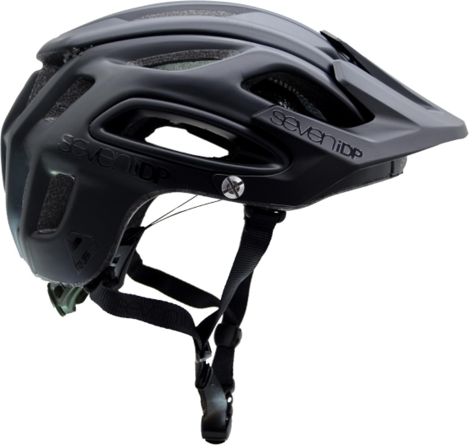 7 Protection 7iDP M2 BOA Casco - black