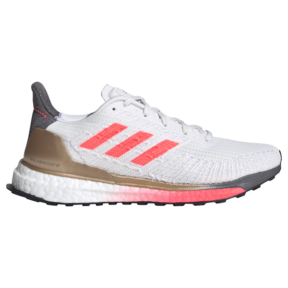 adidas Women's Solar Boost ST 19 Running Shoe - crystal white/signal pink/copper met. FW7805