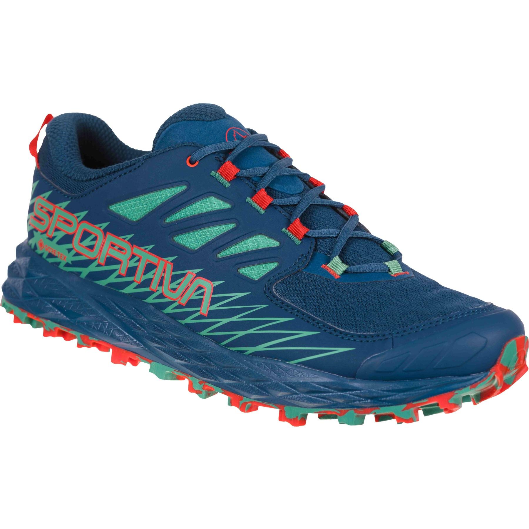 La Sportiva Lycan GTX Running Shoes - Opal/Grass Green
