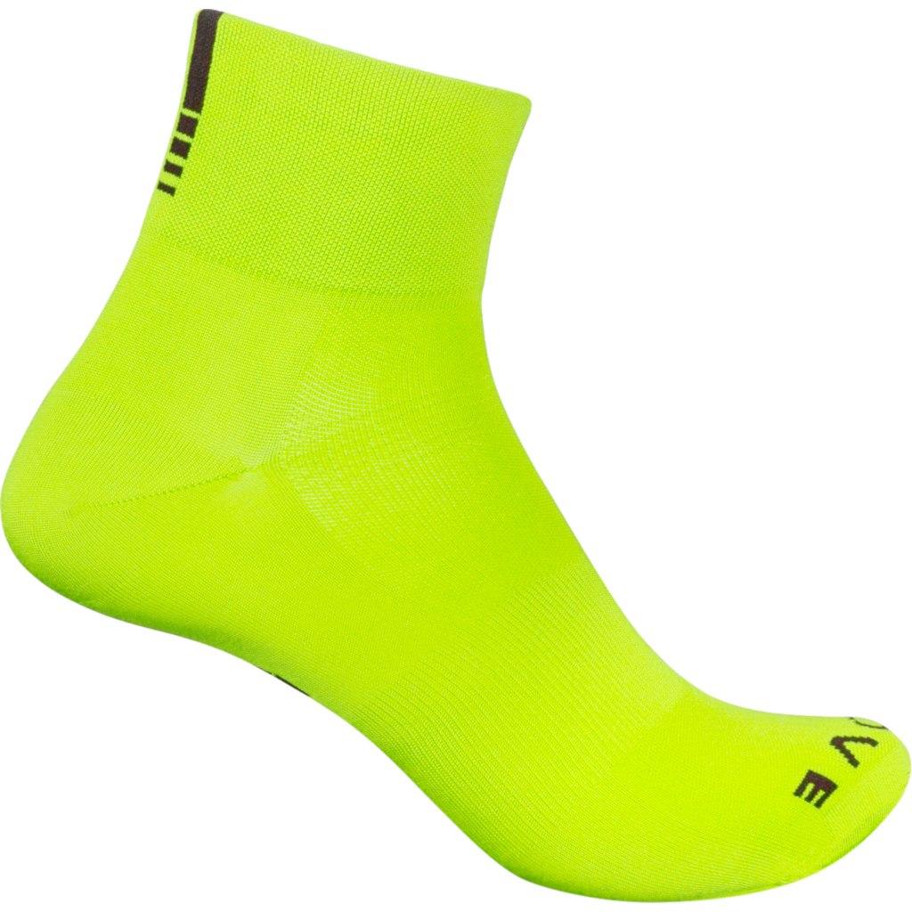 GripGrab Lightweight SL Short Sock - Yellow Hi-Vis
