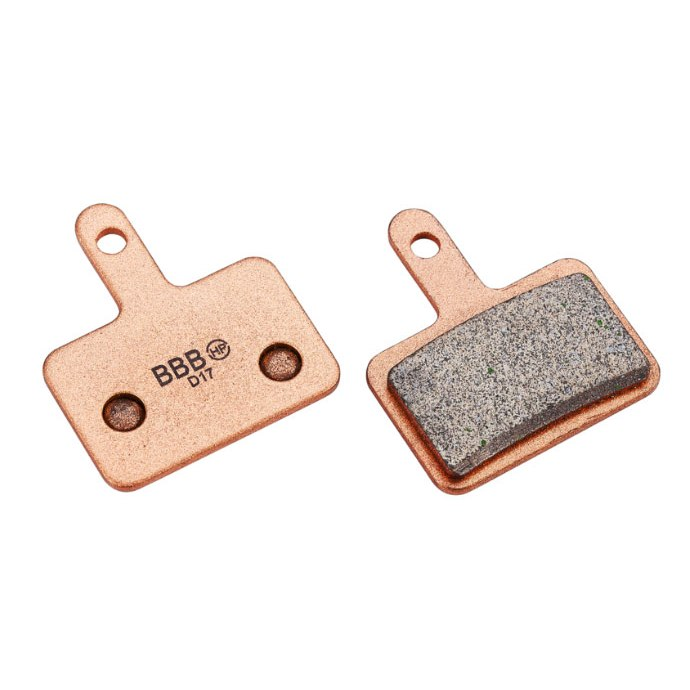 BBB Cycling DiscStop BBS-52S Sintered Metal Brake Pads for Shimano Deore mech. and Nexave