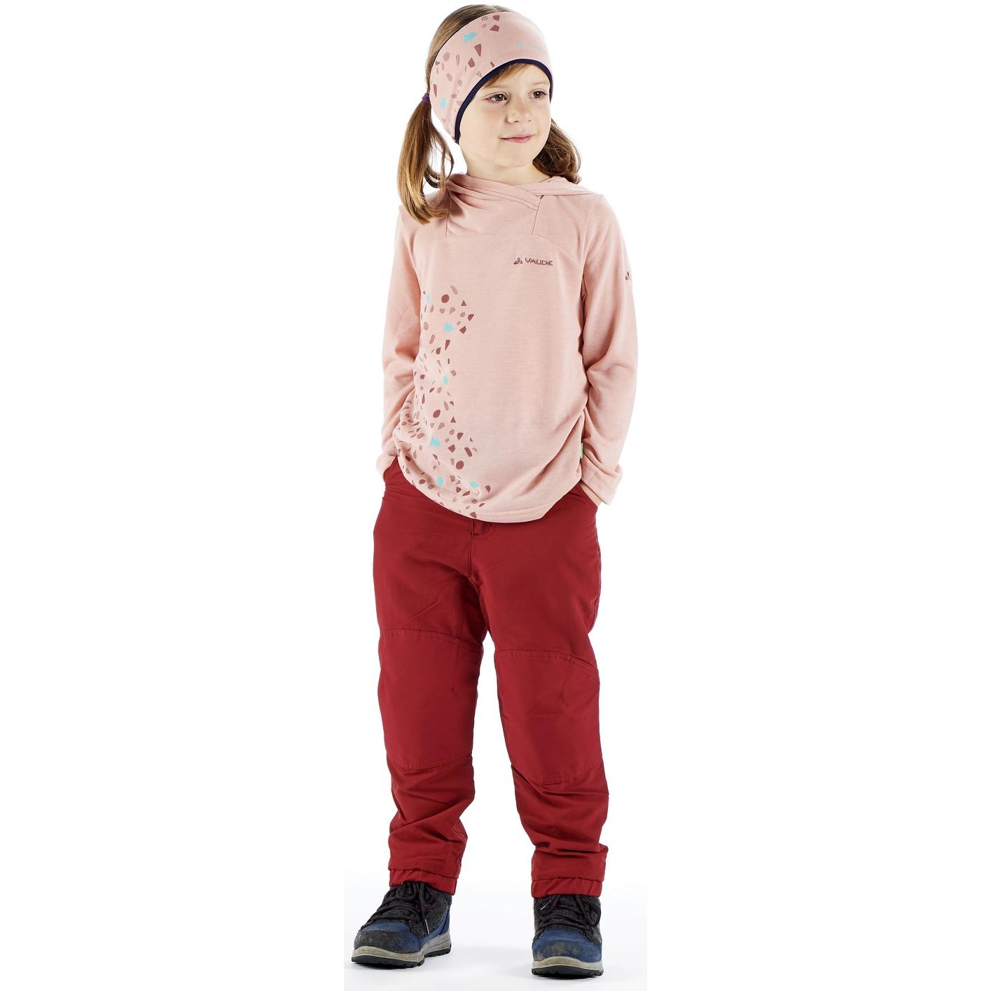 Bild von Vaude Lenoso Kinder Stirnband - dark sea/pink