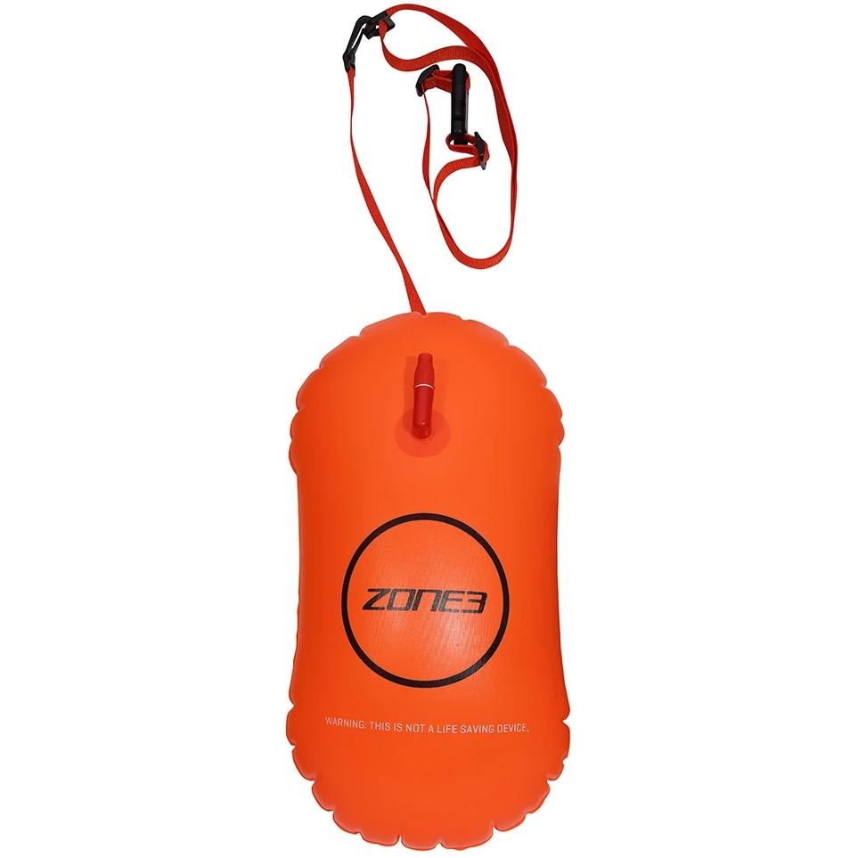 Zone3 Swim Safety Buoy / Tow Float - 28L Schwimmboje - neon orange