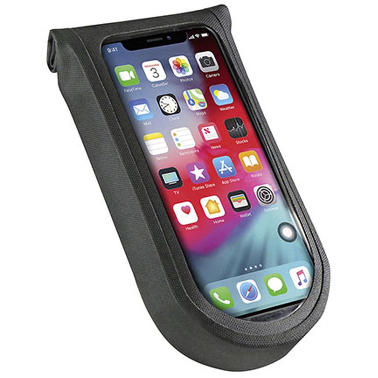 KLICKfix PhoneBag Tour S Smartphone Lenkertasche - schwarz