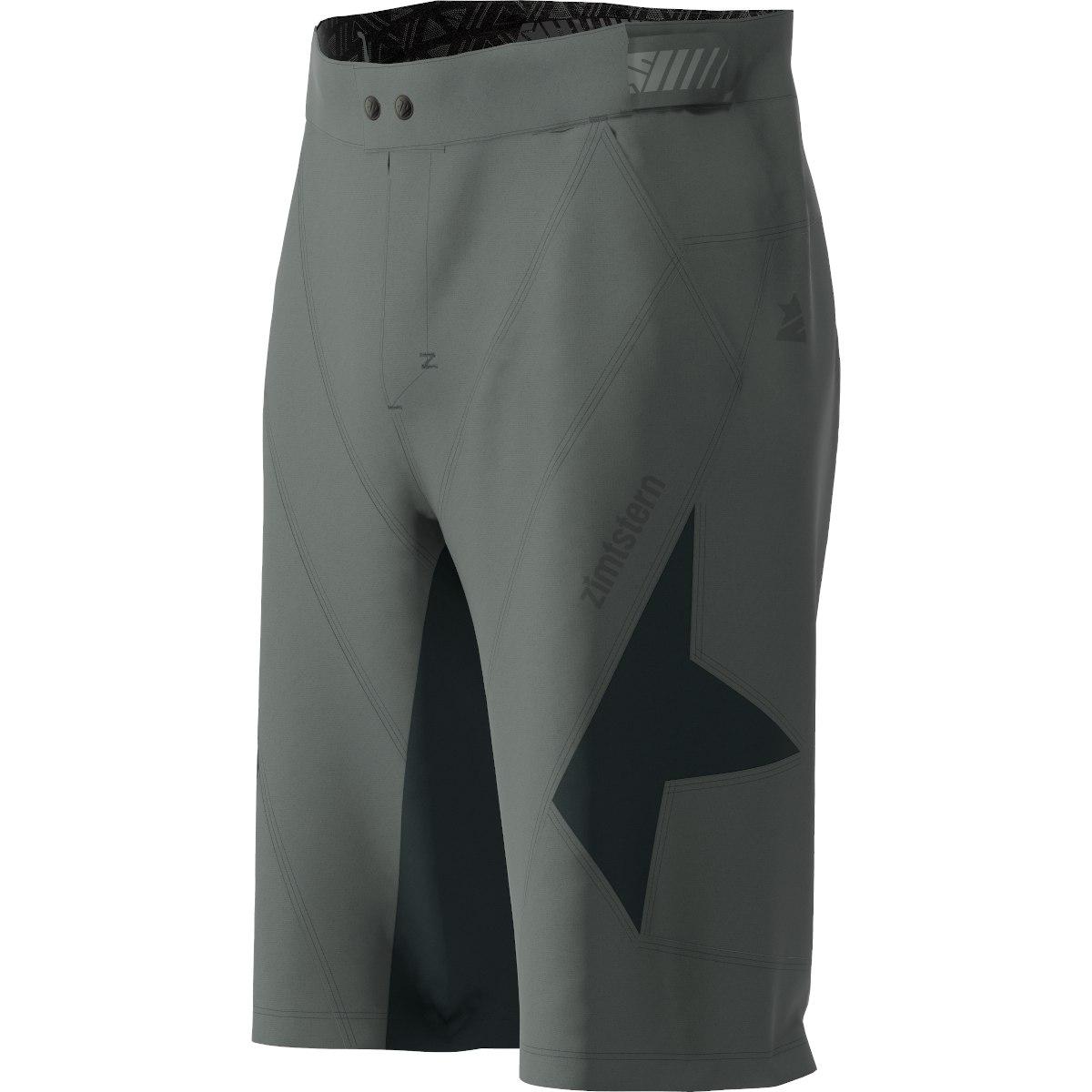 Image of Zimtstern Tauruz Evo MTB-Shorts - gun metal/pirate black