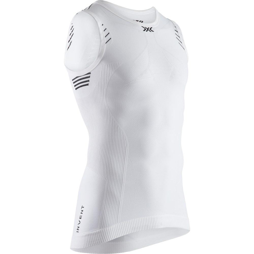 X-Bionic Invent 4.0 LT Singlet Unterhemd für Herren - arctic white/opal black