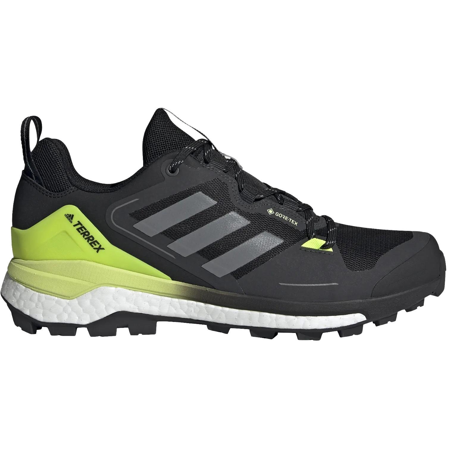 adidas Men's TERREX Skychaser GORE-TEX 2.0 Hiking Shoes - core black/grey three/solar yellow FW2932