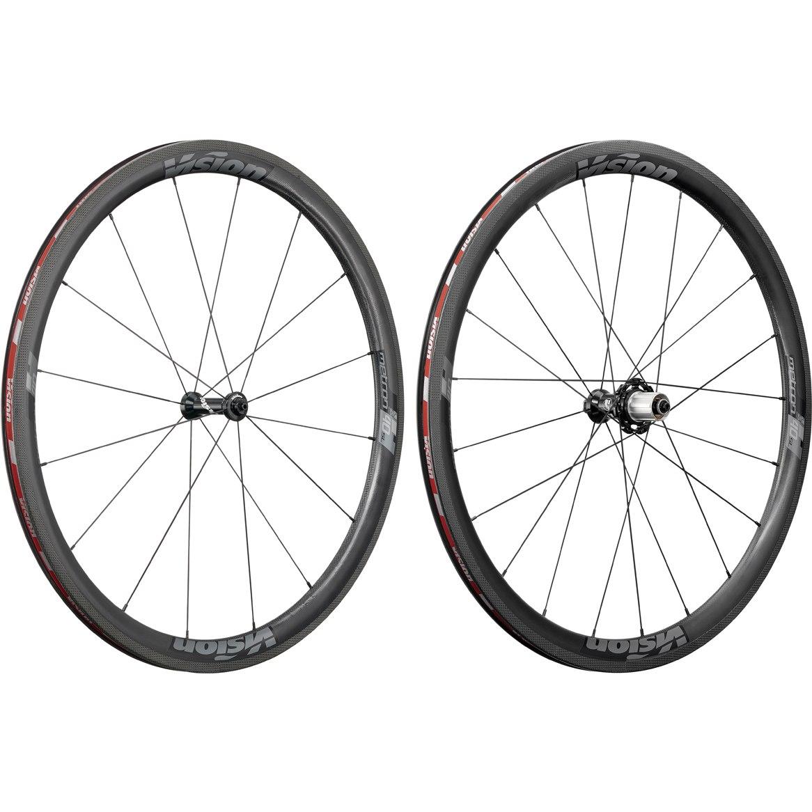 Vision Metron 40 SL Carbon Laufradsatz - Tubeless Ready - Drahtreifen - Shimano HG