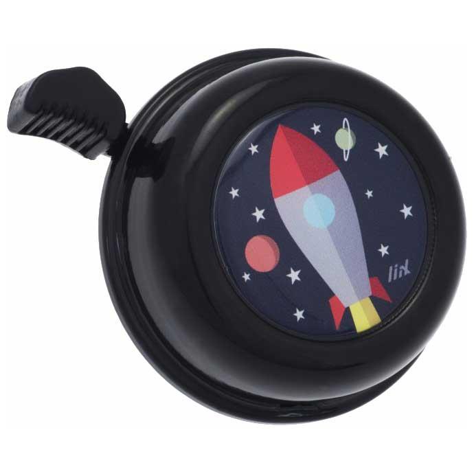 Liix Colour Bell Fahrradklingel - Rocket Black
