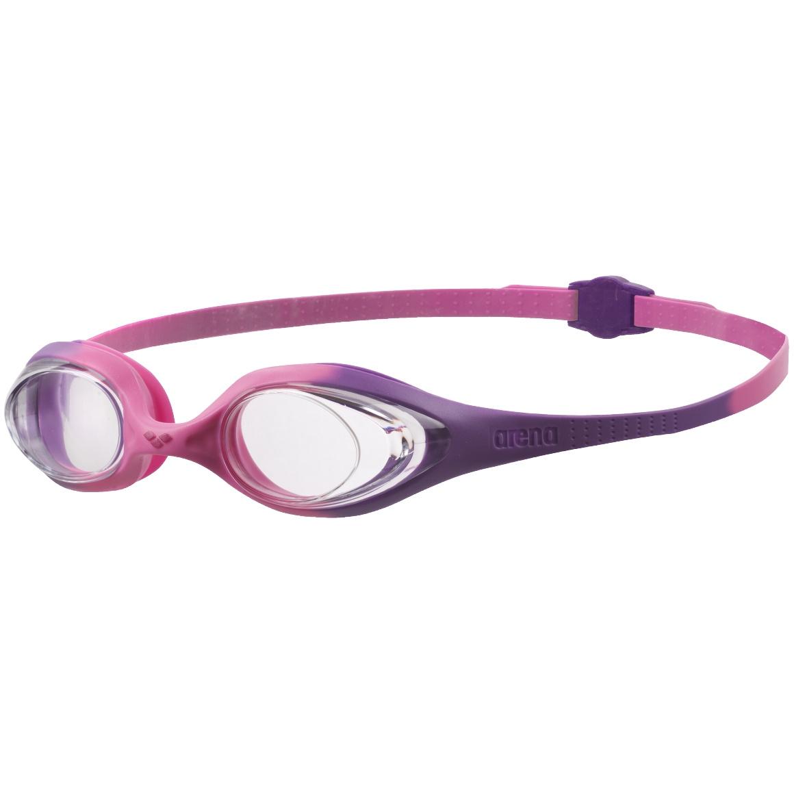 Produktbild von arena Spider JR Kinder Schwimmbrille - violet-clear-pink