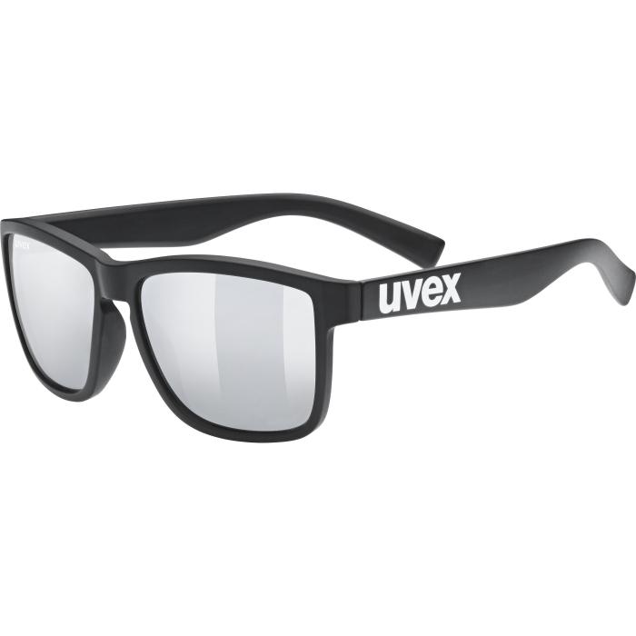 Uvex lgl 39 Glasses - black mat - mirror silver