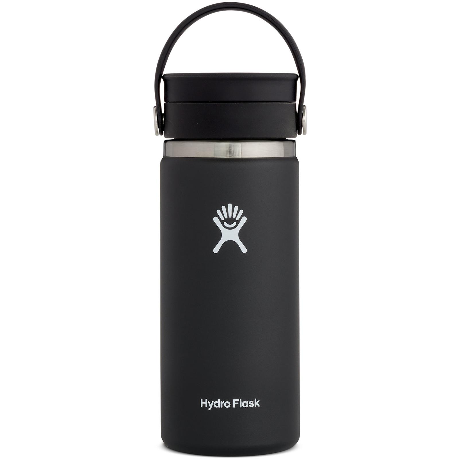 Produktbild von Hydro Flask 16 oz Wide Mouth Coffee Kaffeebecher mit Flex Sip Deckel - 473 ml - Black
