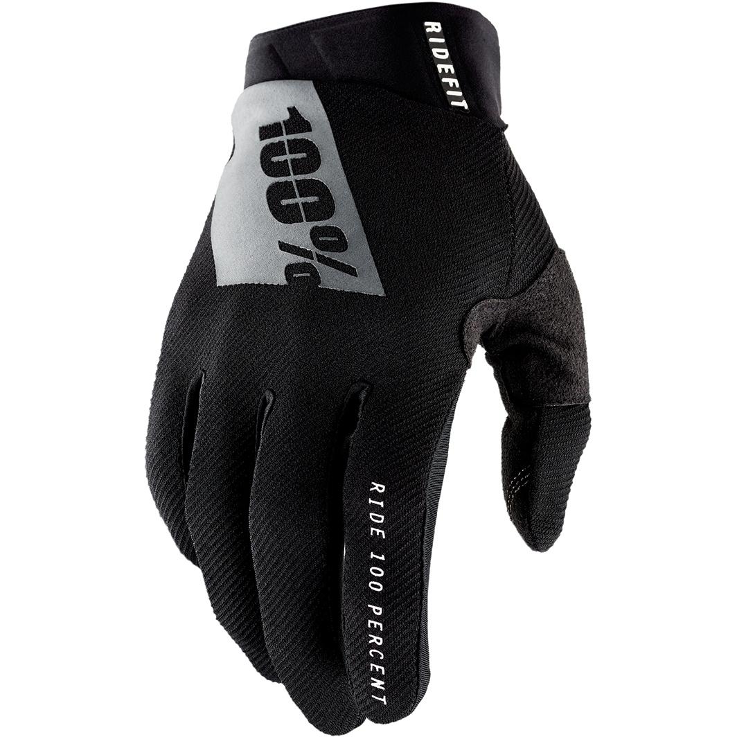 Produktbild von 100% Ridefit Handschuhe - schwarz