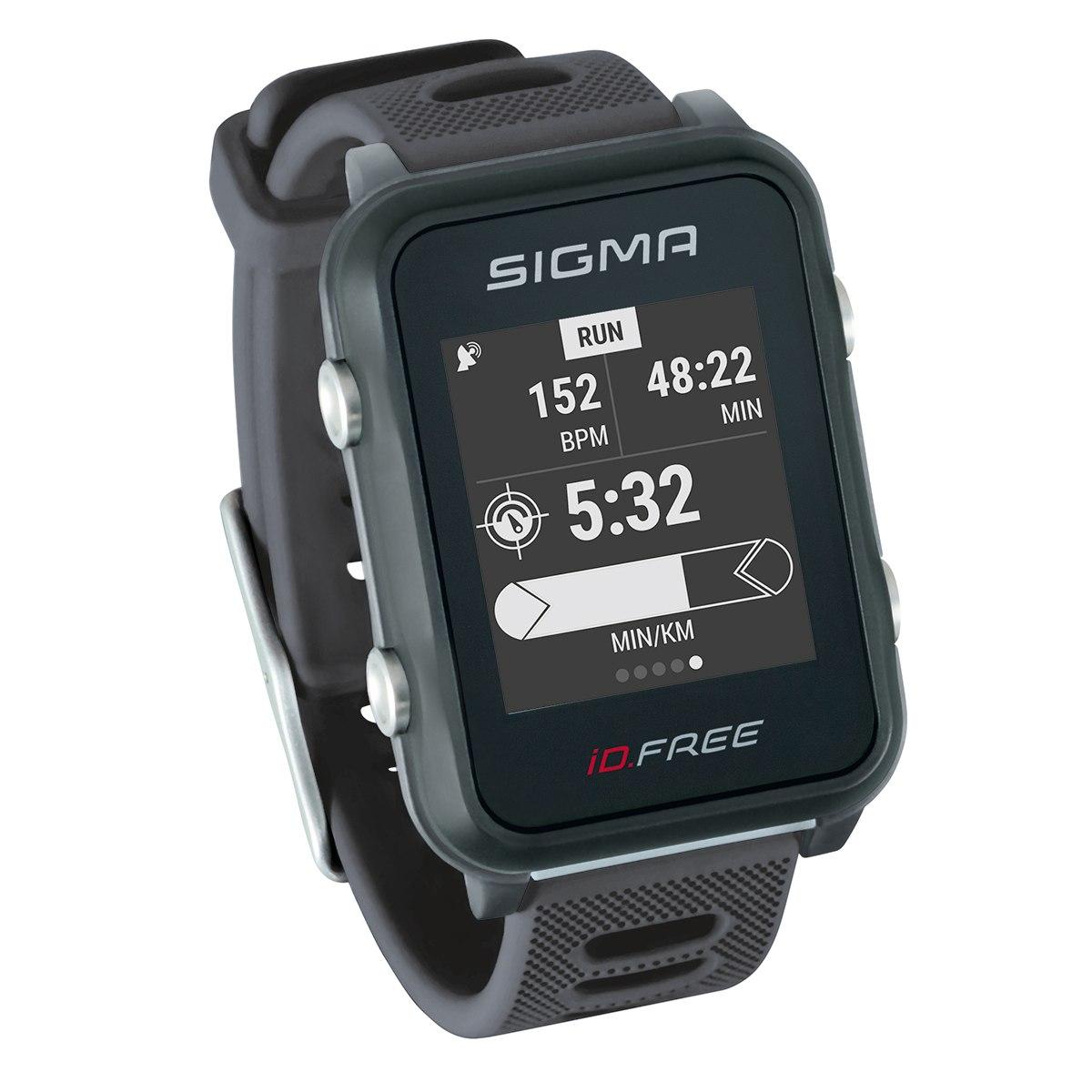 Produktbild von Sigma Sport iD.FREE Multisportuhr - grey