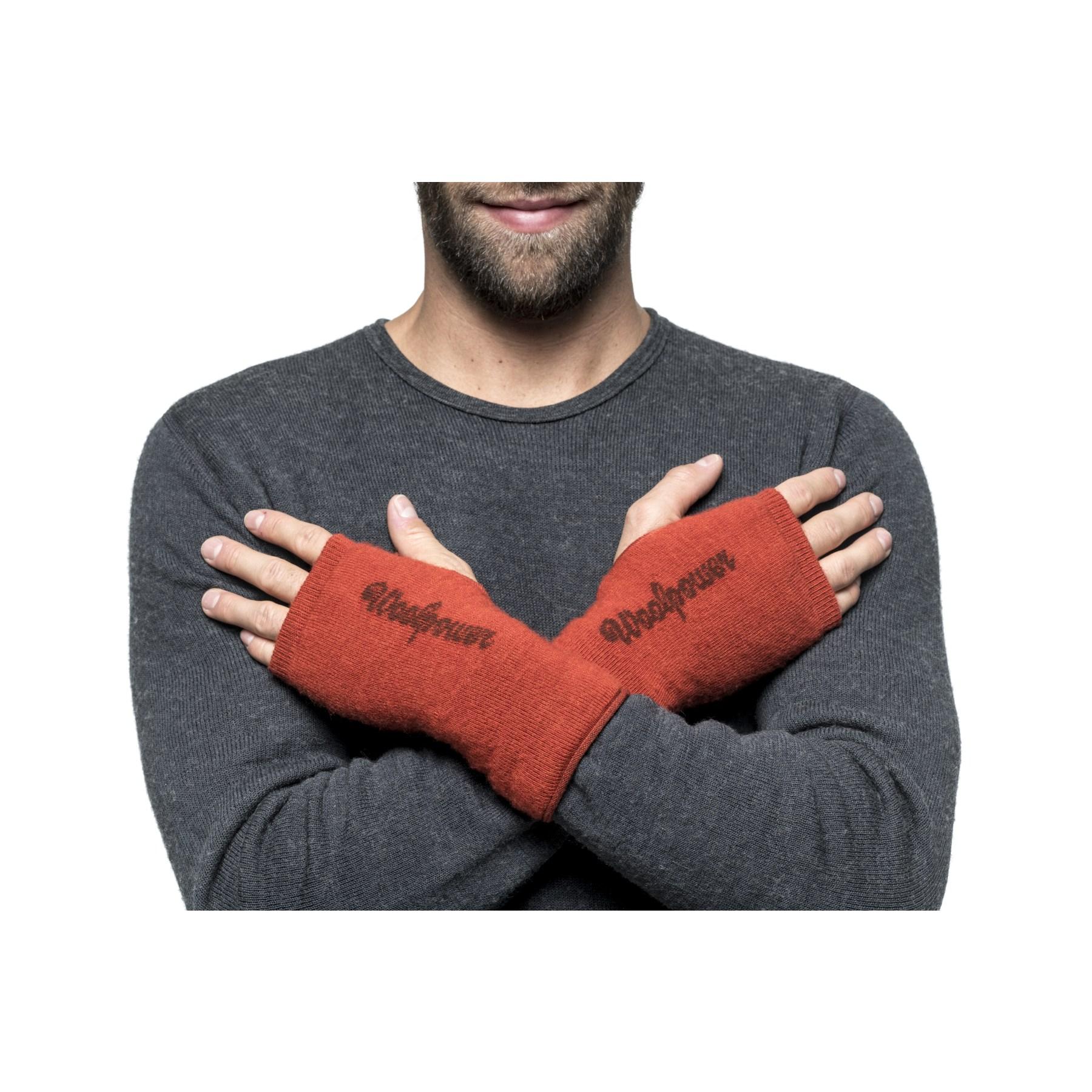 Image of Woolpower Wrist Gaiter 200 - autumn red