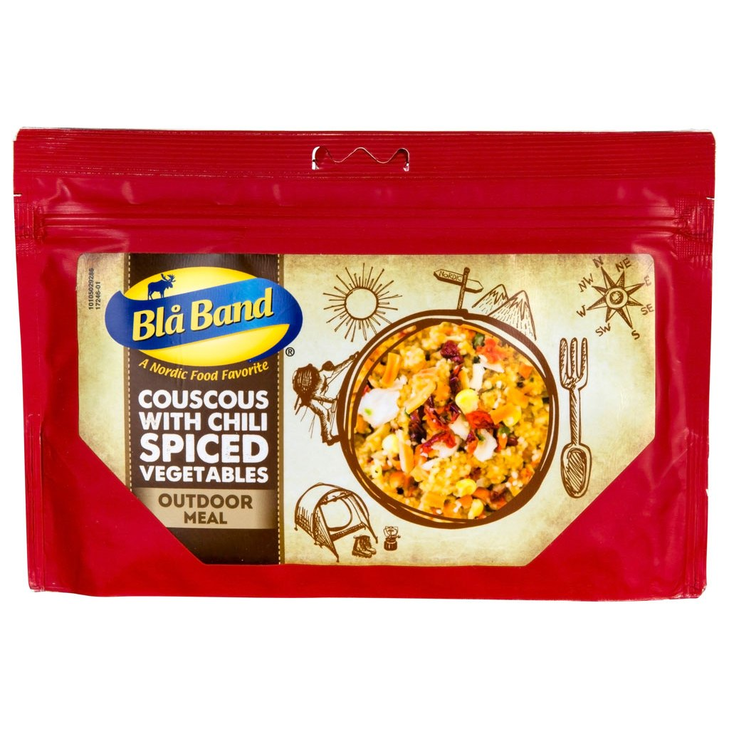 Blå Band Couscous with Chili Spiced Vegetables - Outdoor-Meal - 151g