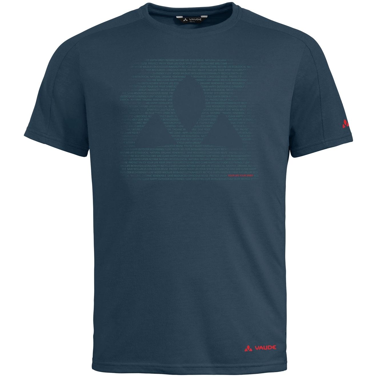 Vaude Gleann T-Shirt - steelblue
