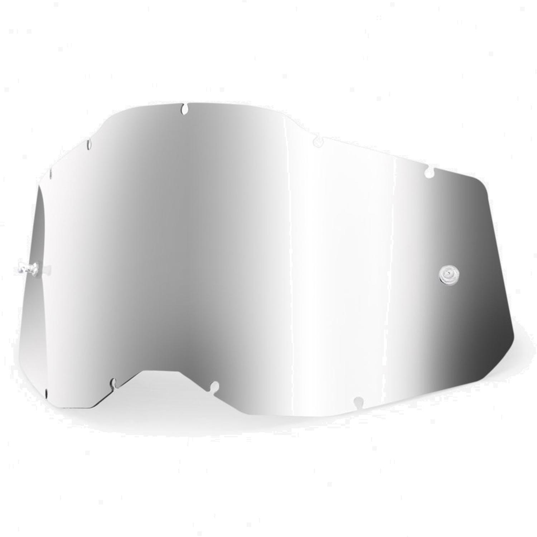 100% Gen. 2 Youth Anti Fog Mirror Lente de repuesto - Silver Mirror