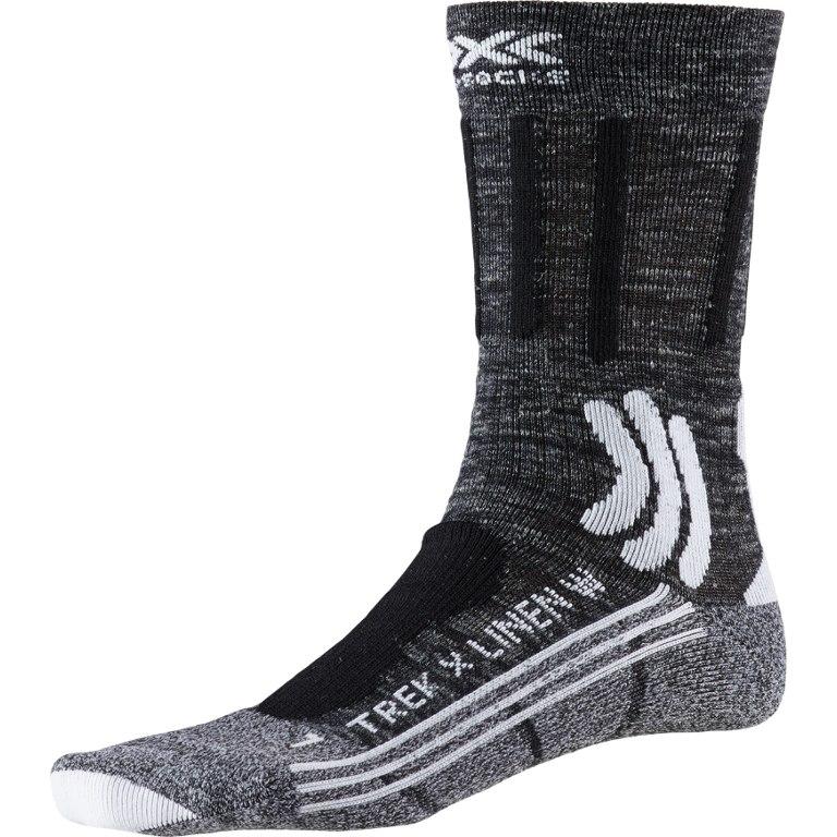 X-Socks Trek X Linen Women's Socks - dolomite grey melange/opal black