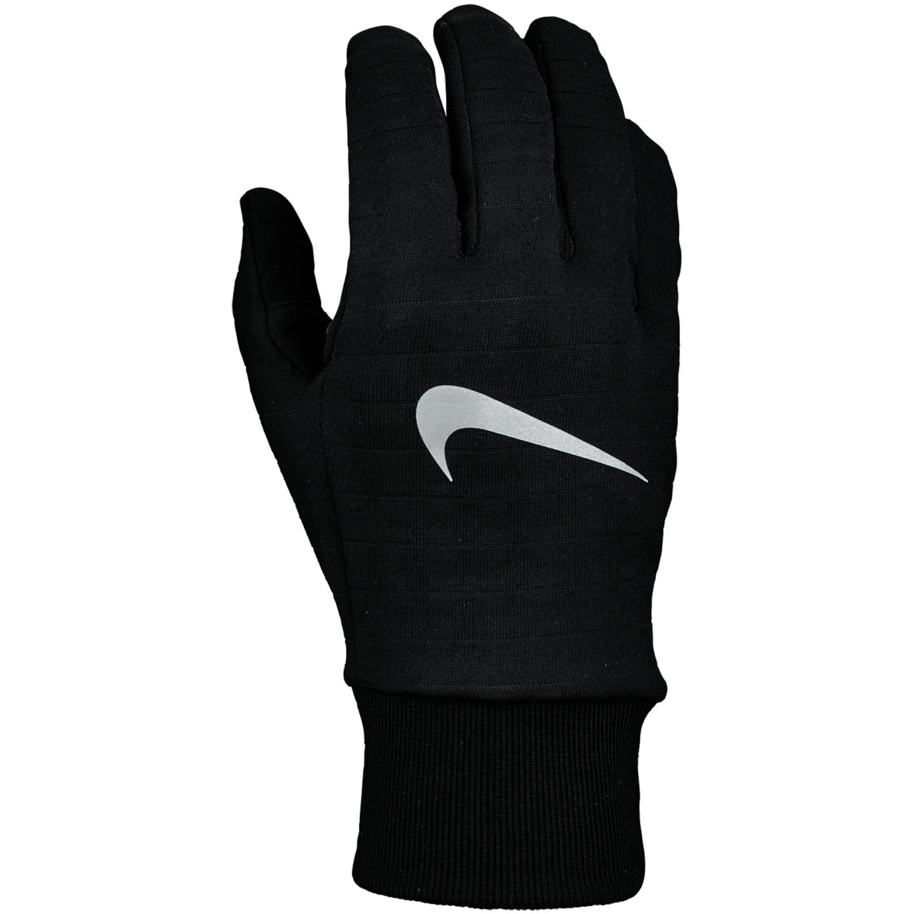 Nike Sphere 3.0 Laufhandschuhe für Herren - black/black/silver 082