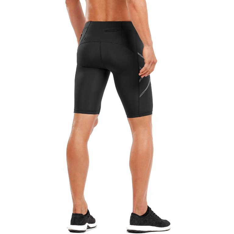Imagen de 2XU Elite MCS Run Compression Pantalones cortos - black/black reflective