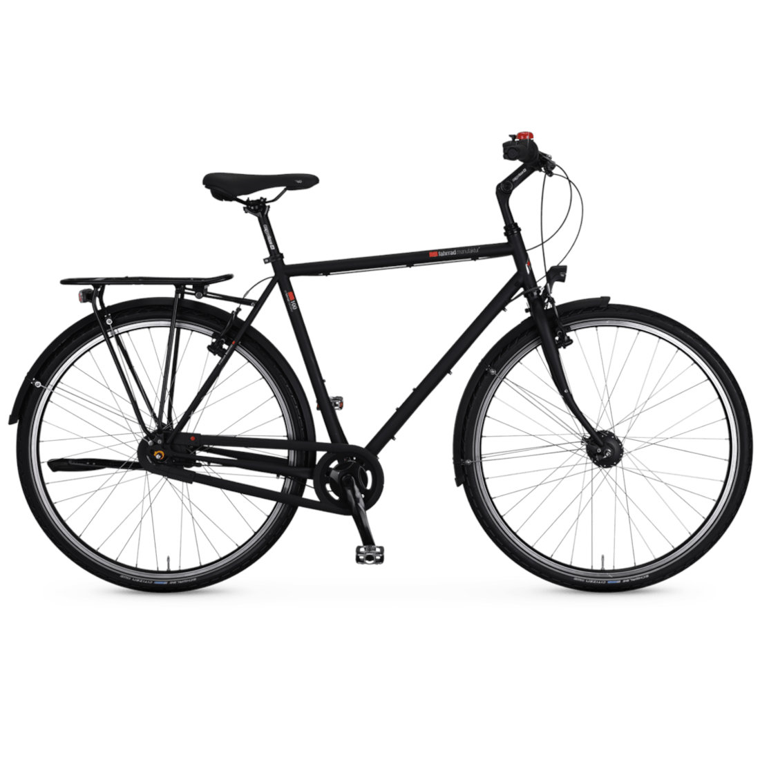 vsf fahrradmanufaktur T-100 HS11 Nexus - Men Trekking Bike - 2022 - ebony matte