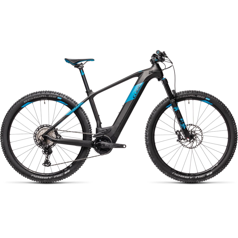 """Produktbild von CUBE ELITE HYBRID C:62 SL 625 - 29"""" Carbon MTB E-Bike - 2021 - carbon/blue"""