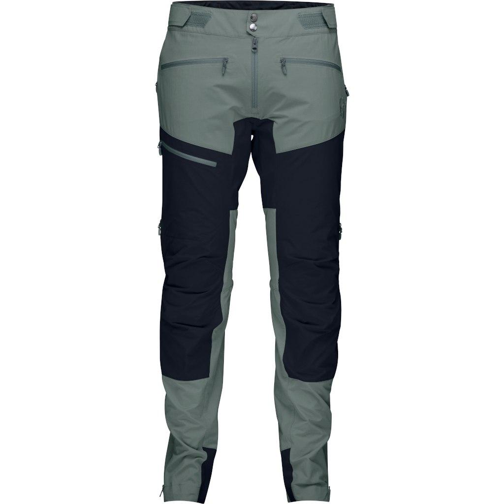 Norrona fjora flex1 Pantalones para hombres - Castor Grey/Caviar