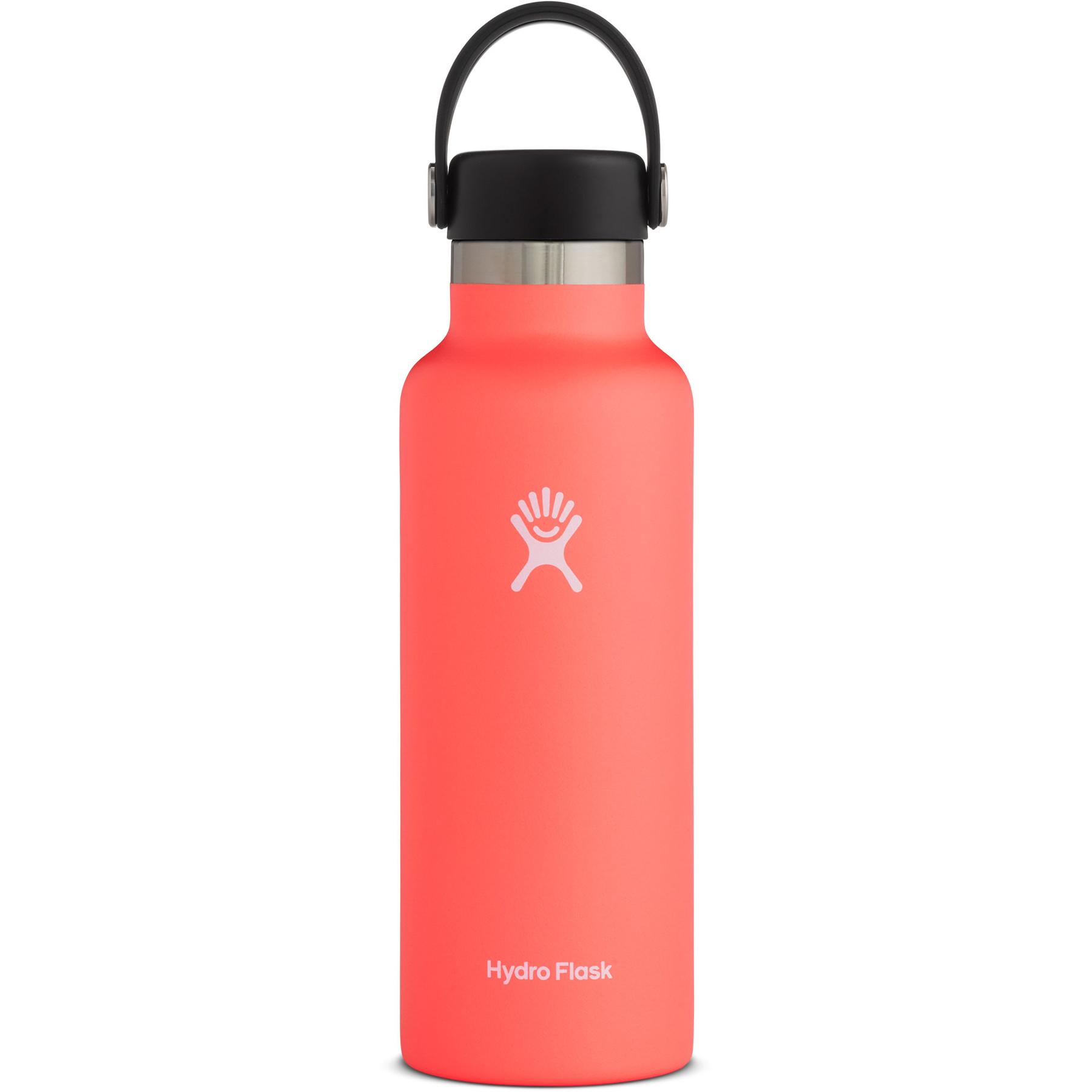 Produktbild von Hydro Flask 18 oz Standard Mouth Flex Cap Thermoflasche 532ml - Hibiscus