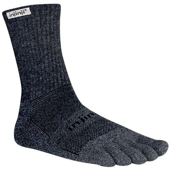 Produktbild von Injinji Trail Midweight Crew Socken - granite