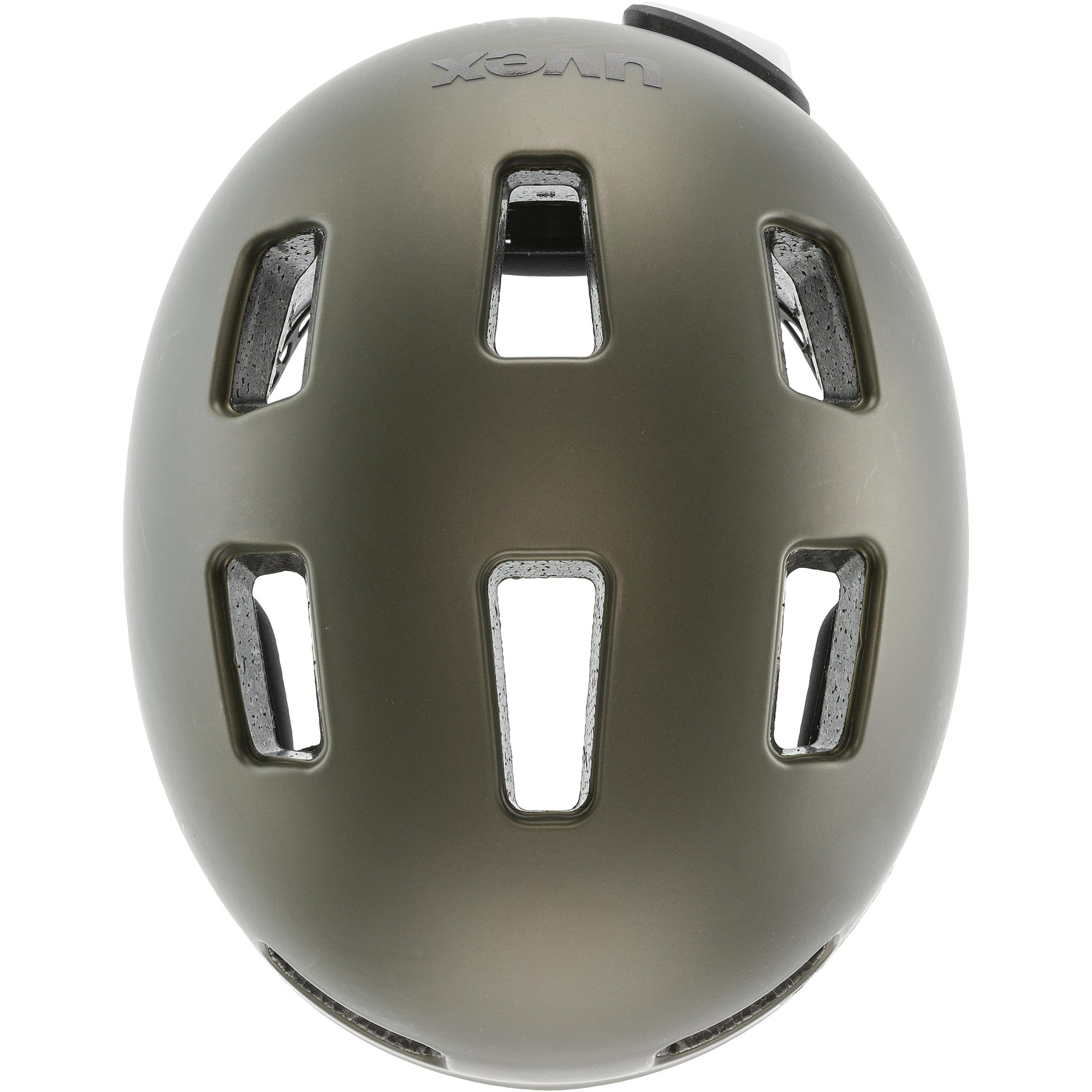 Image of Uvex city 4 Helmet - green smoke mat