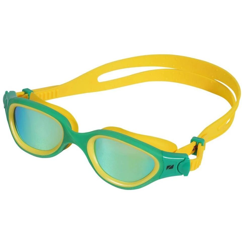 Zone3 Venator-X Schwimmbrille - Polarized - green/yellow - polarized revo gold lens