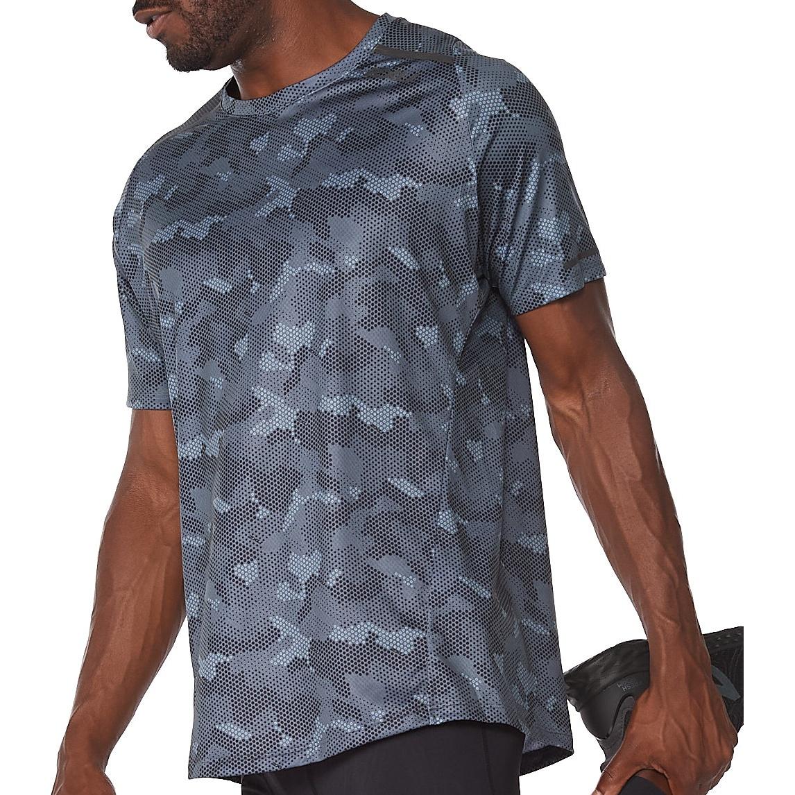 Imagen de 2XU Light Speed Camiseta - division camo/black reflective