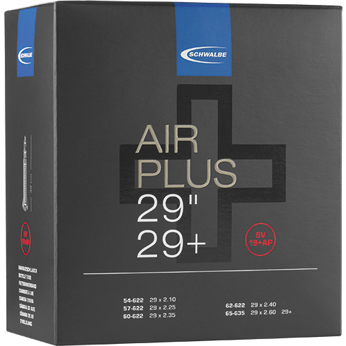 "Schwalbe Tube - Air Plus -  29""+ (54/65-622) - SV 19+AP - Presta-Valve"