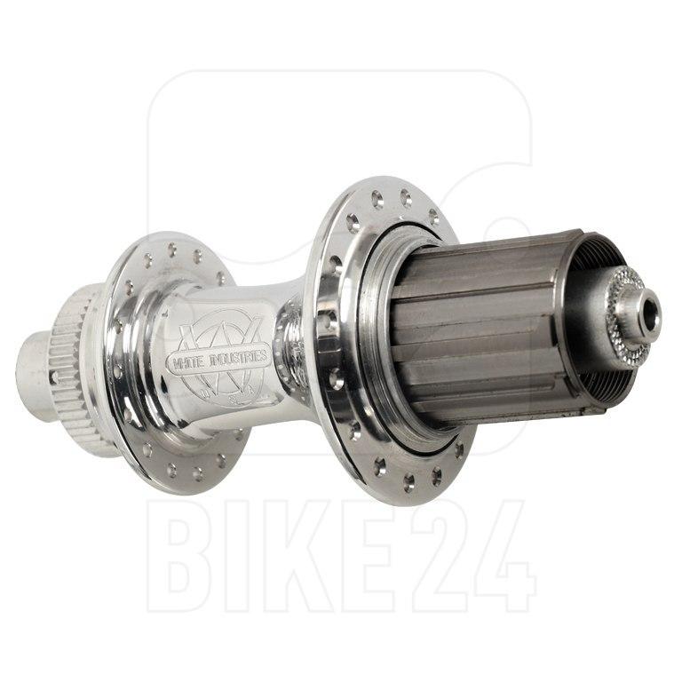 White Industries CLD Hinterradnabe - Centerlock - 12x142mm - silber poliert