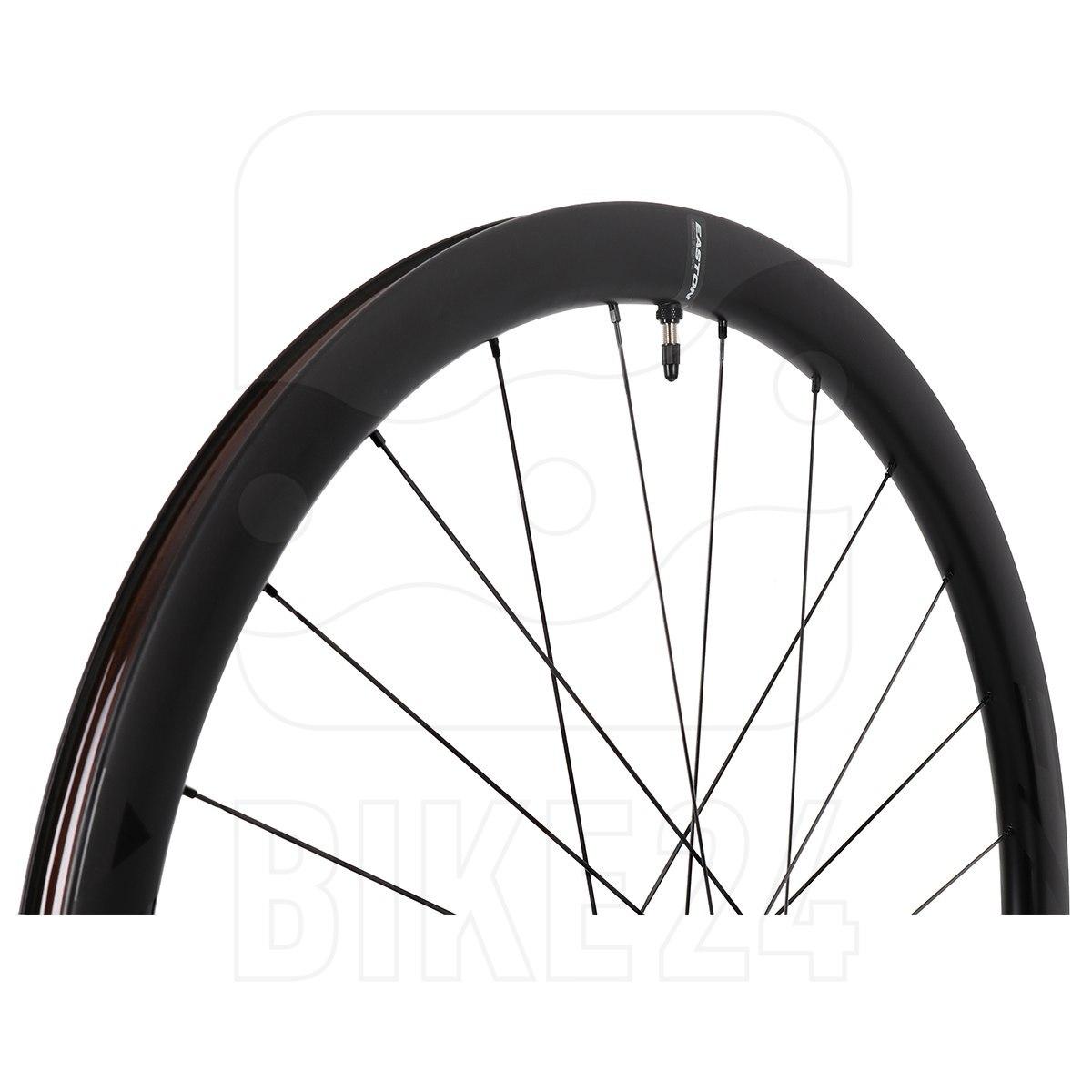Image of Easton EC90 SL38 Carbon Disc Front Wheel for Clincher - Centerlock - 12x100mm - matte carbon