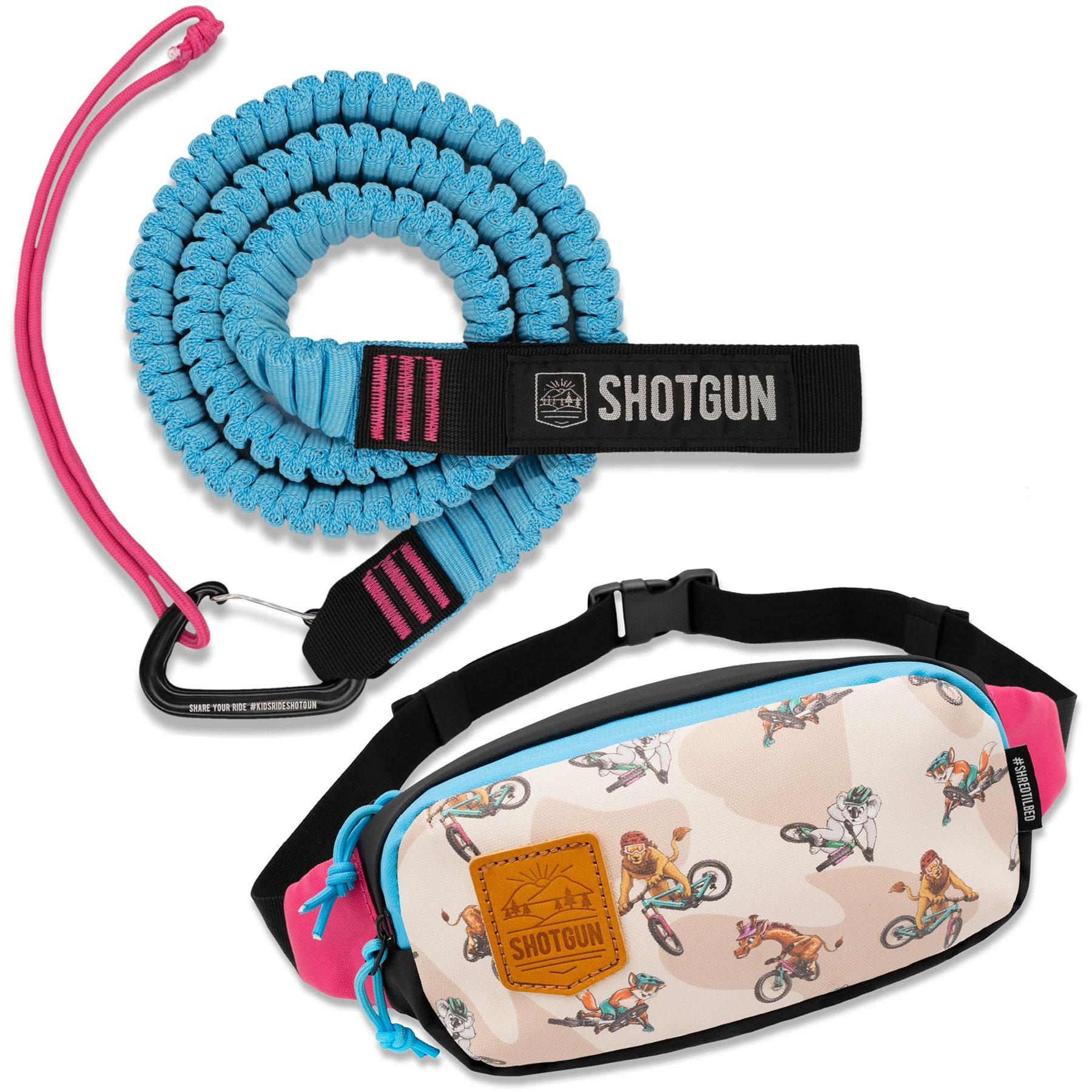Shotgun Set Abschleppseil mit Hüfttasche