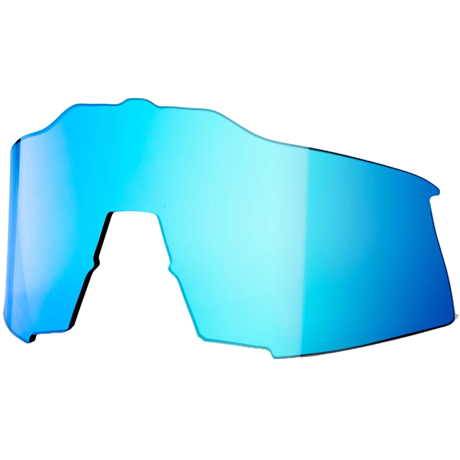 Imagen de 100% Speedcraft Tall Mirror Lente de repuesto - Blue Topaz Multilayer Mirror