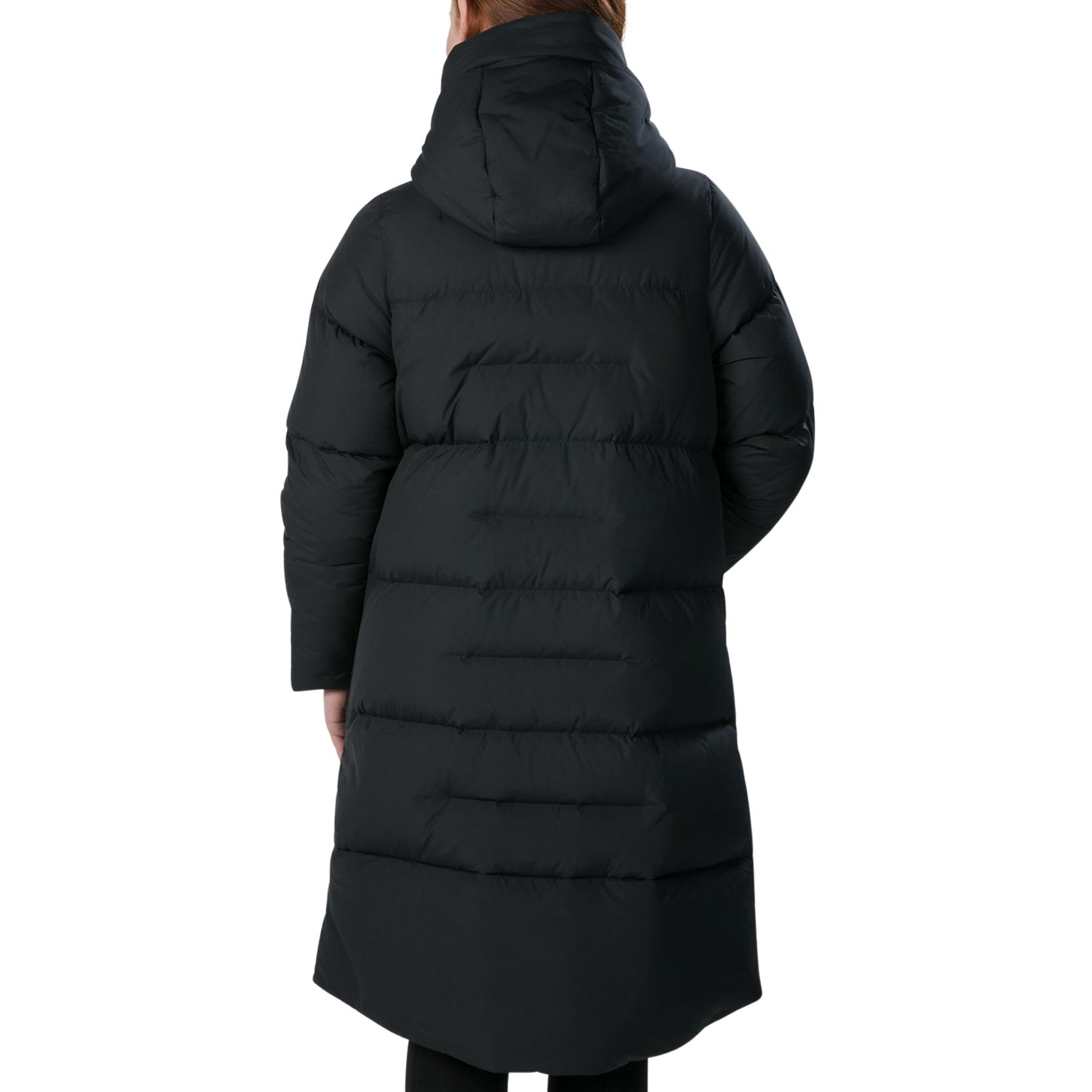 Image of Berghaus Women's Combust Reflect Long Down Insulated Jacket - Jet Black BP6
