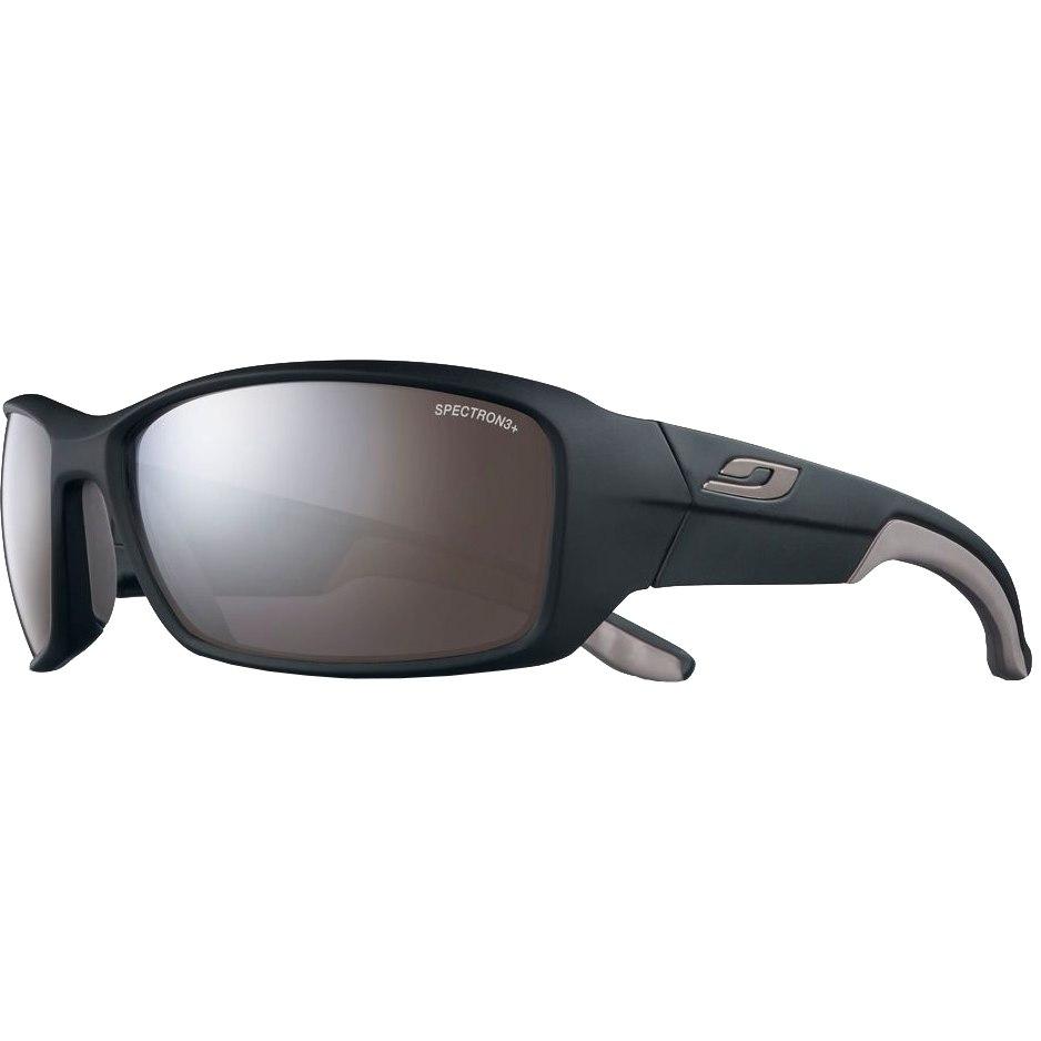 Julbo Run Spectron 3+ Sonnenbrille - Matt Schwarz Grau / Grau Flash Silber