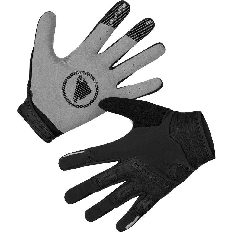Produktbild von Endura SingleTrack Winddichter Handschuh - schwarz