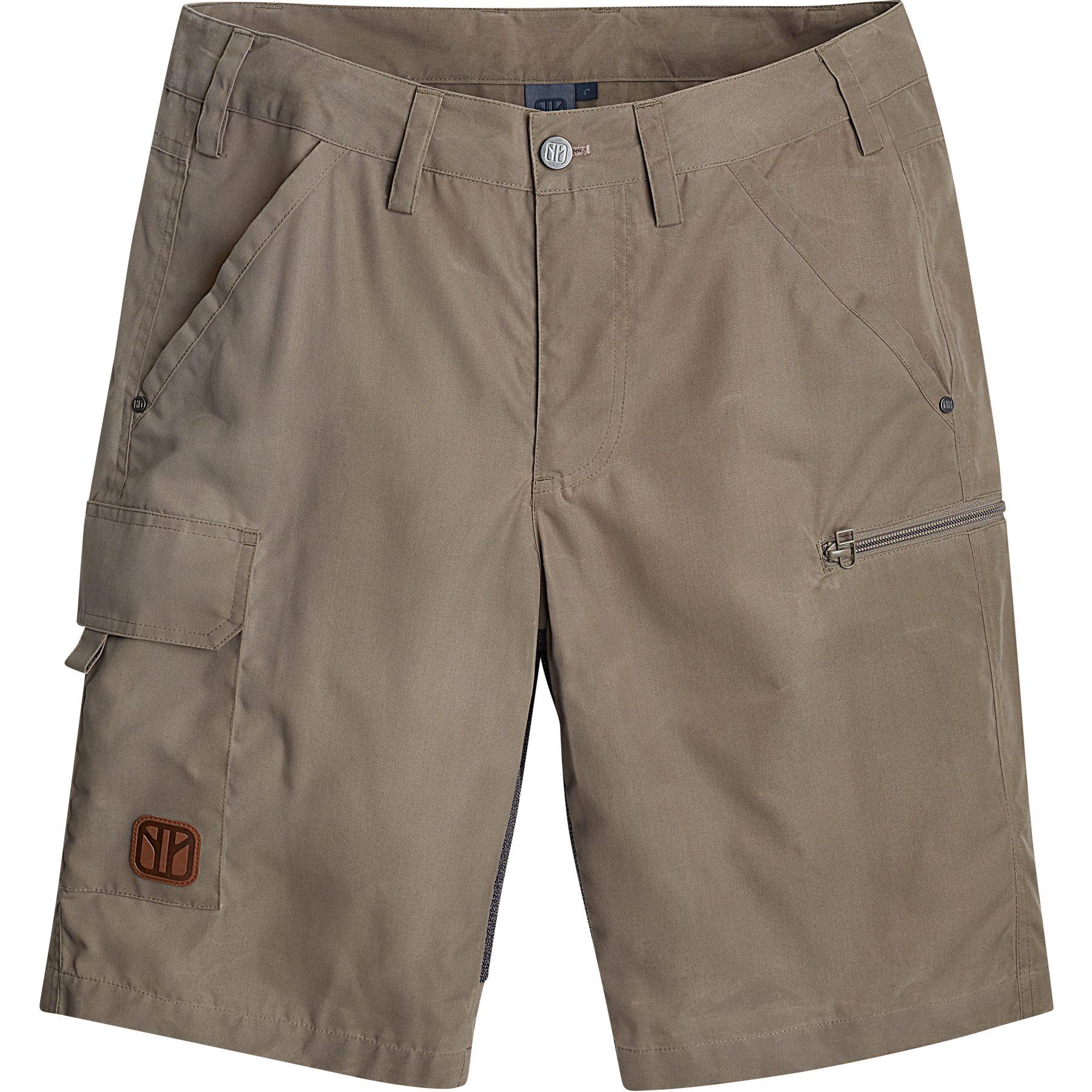 Elkline SIT UP Shorts - khaki