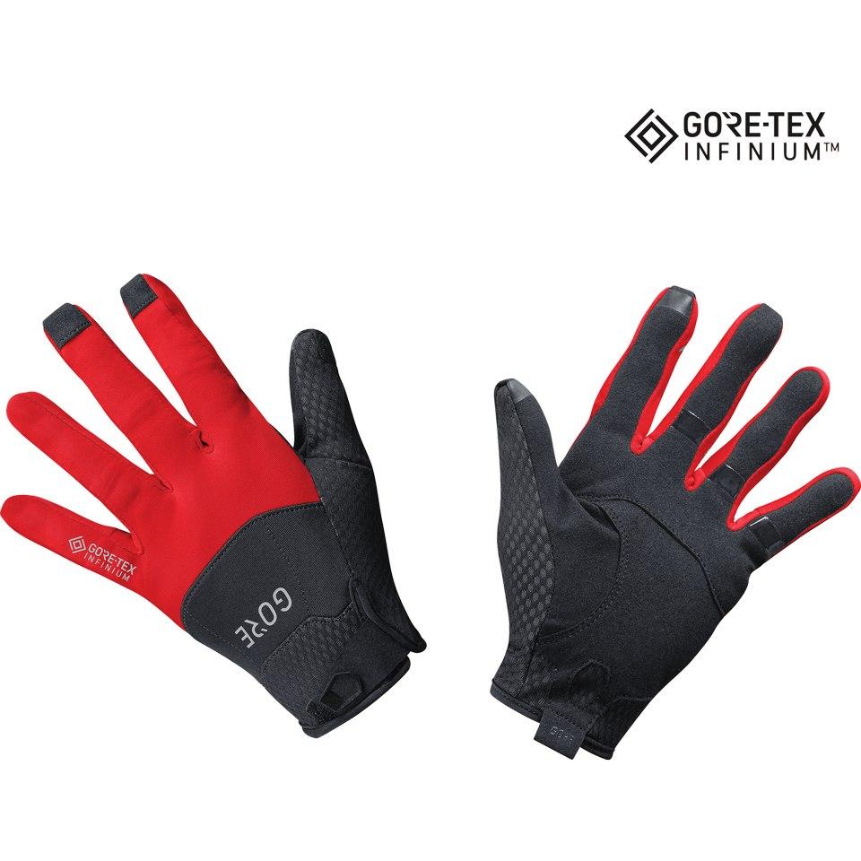 GORE Wear C5 GORE-TEX INFINIUM™ Gloves - black/red 9935